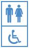 Toiletwagen voor 3
