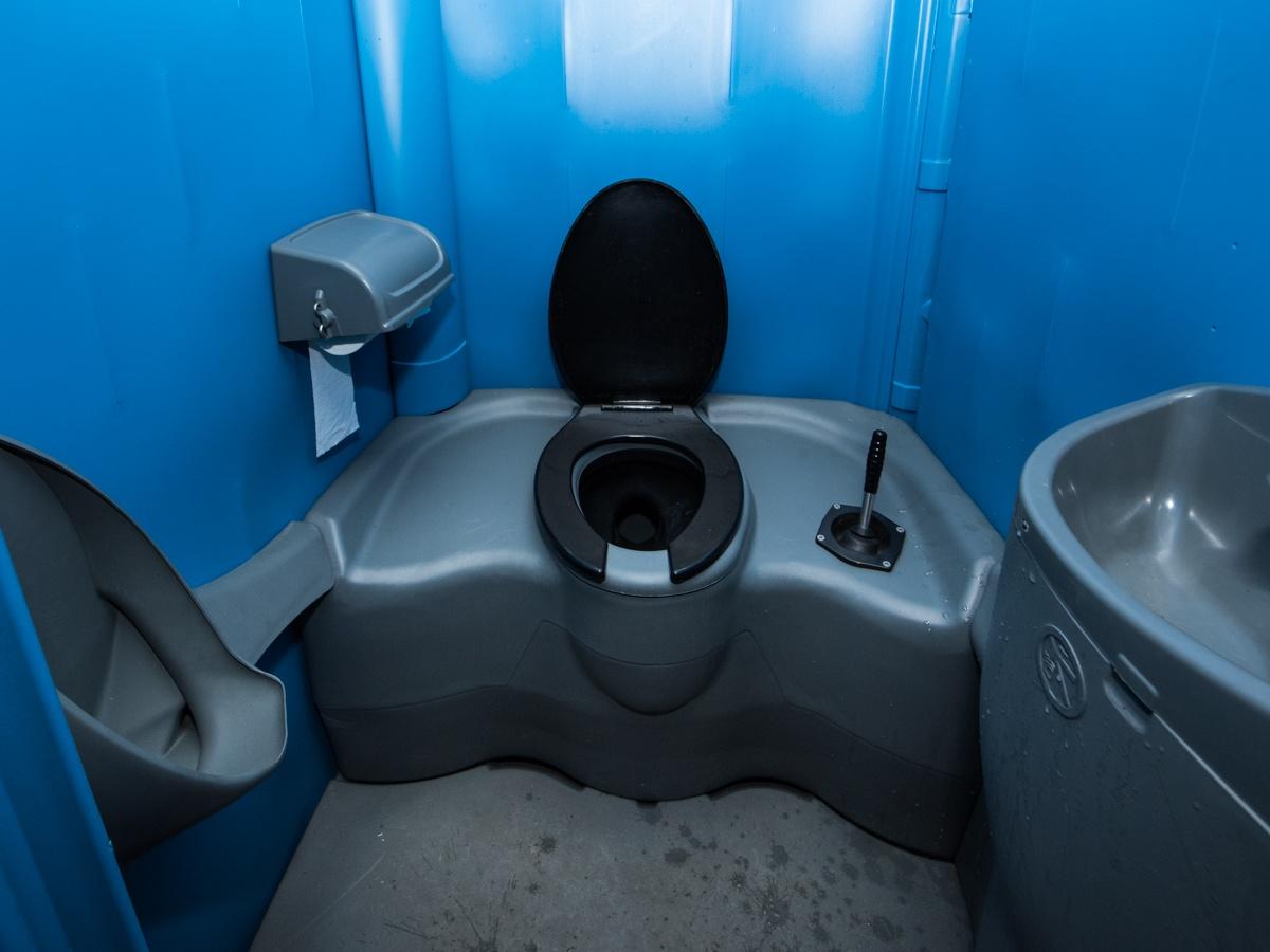 Dixie Toilet Huren : Toiletwagen hjverhuur