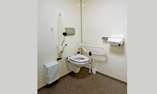 Specificatie mindervalide toiletwagen hjverhuur